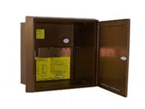 BROWN RECESSED GAS METER BOX