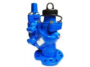 Fire hydrant through bore